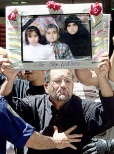 Ali Mehdi Sobie lost his wife Zainab, and his three daughters Dunya, 14, Marwa, 12 and Hirajn 10 in the SIEVX disaster - 'If I knew the Australian government would treat me and my family this way, I would have preferred to stay in Iraq and be executed by Saddam Hussein rather than be executed this way... By killing my family, they are killing me'